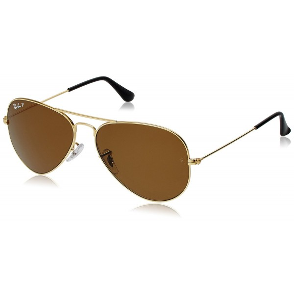 ae69b97f023088 Ray-Ban Aviator Sunglasses (Golden) (RB3025
