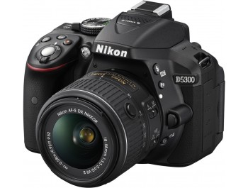 Nikon D5300 Digital Slr Camera With 18-55mm Vr Zoom Lens 24.2 Megapixel