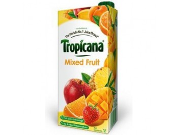 Tropicana 100% Mixed Fruit Juice-1ltr