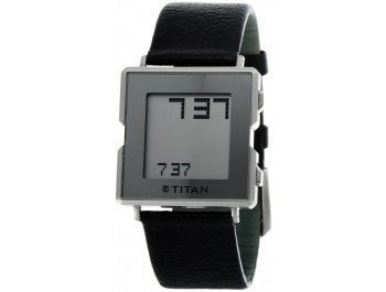 Titan Digital Grey Dial Men'S Watch - 1423sl01