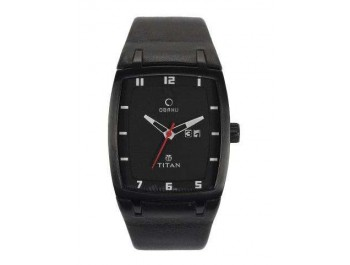 Titan Men Black Dial Watch - 9300nl01