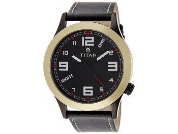 Titan Youth Analog Black Dial Men'S Watch - 9474kl05j
